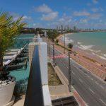 Hotel Cabo Branco na praia de Cabo Branco