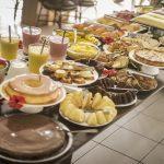 Café da manhã no Hotel Pipa Atlântico