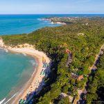 Vista aérea da Praia da Pipa